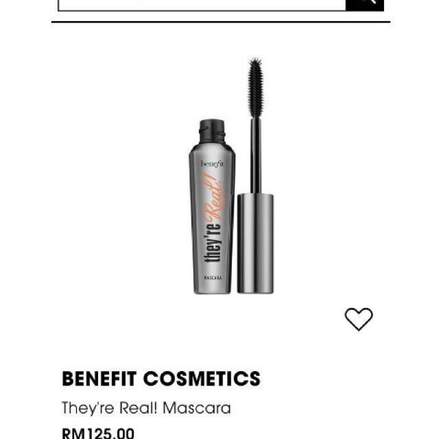 🆕BENEFIT MASCARA THEY'RE REAL