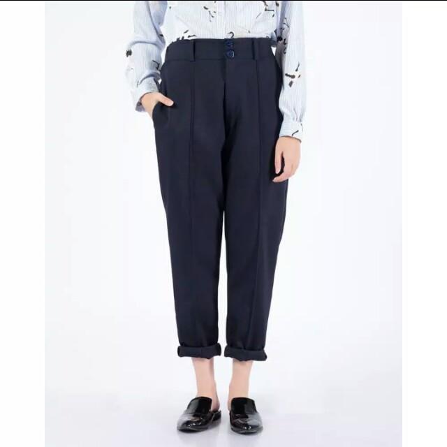 bhavia japanese pants (navy)