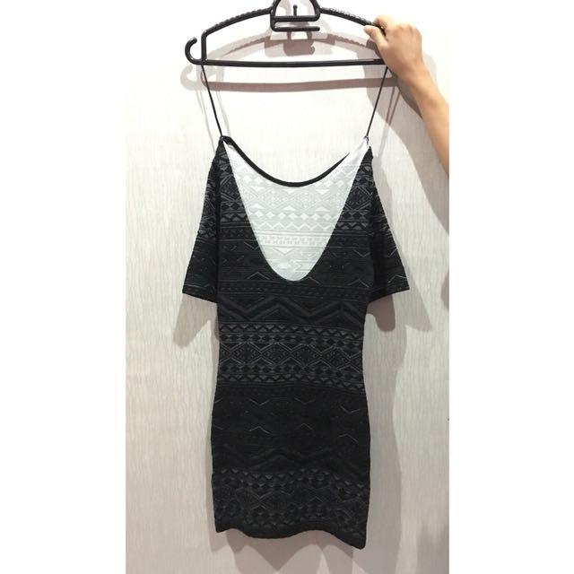 Black Tribal Dress by H&M💙