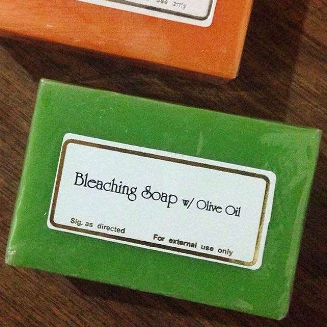 BLEACHING SOAP w/ OLIVE OIL