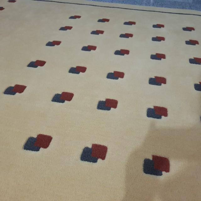 BN Beige colour with design Carpet