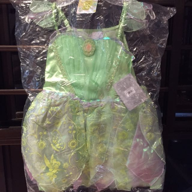 BNWT~ Disney\'s Tinkerbell Glow-in-the-Dark Costume size 7/8, Babies ...