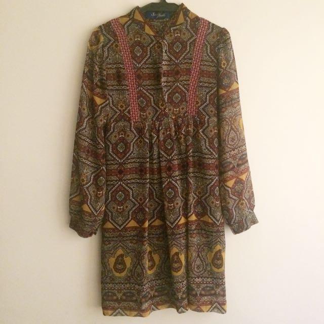 BOHO DRESS FROM BANGKOK