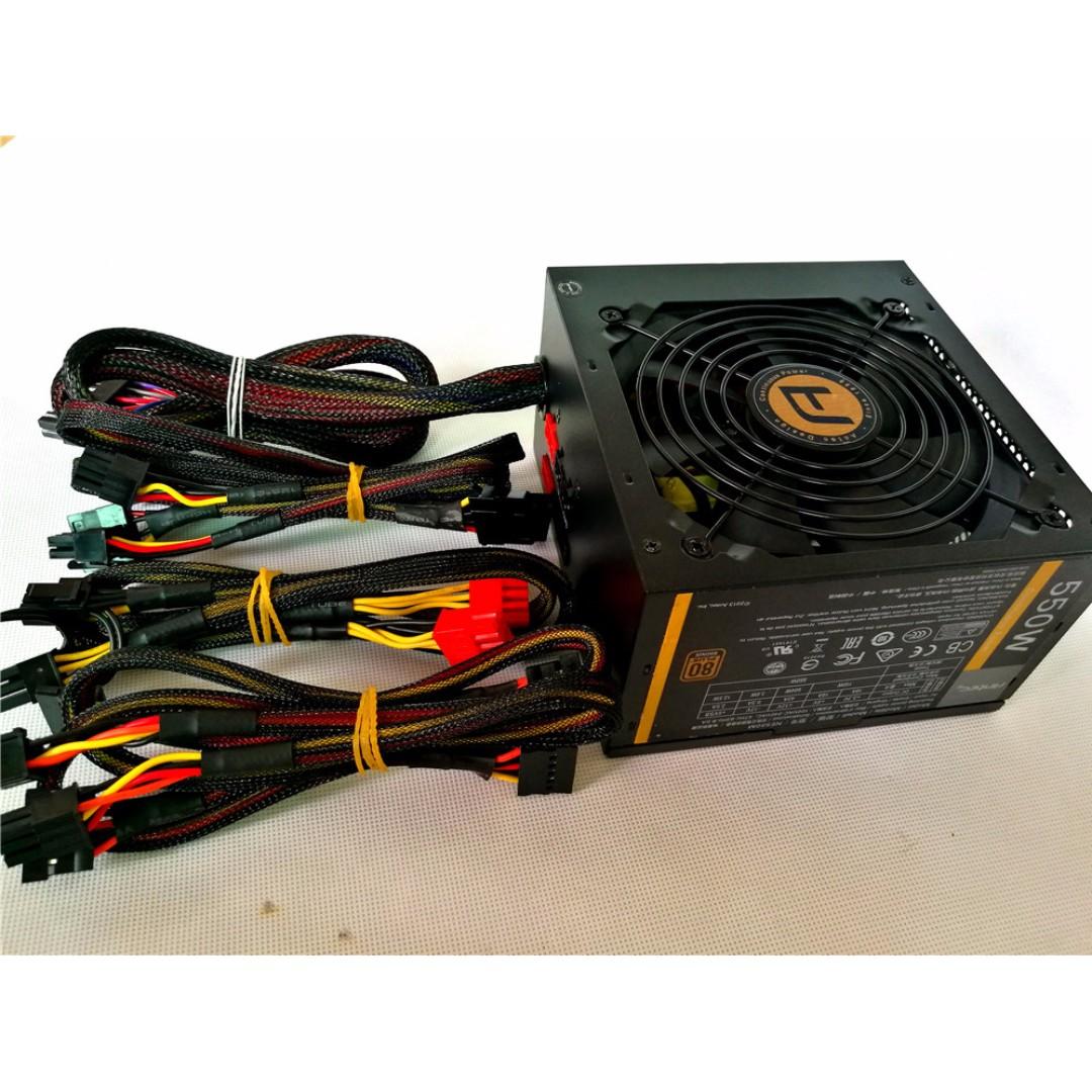 Brand New Antec 450W /550W /650W Semi-Modular Power Supply
