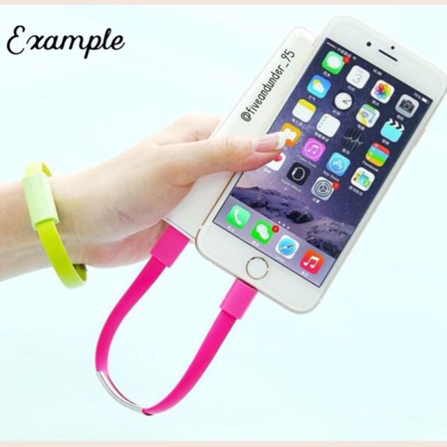 [BRAND NEW] Bracelet Charger for iPhone