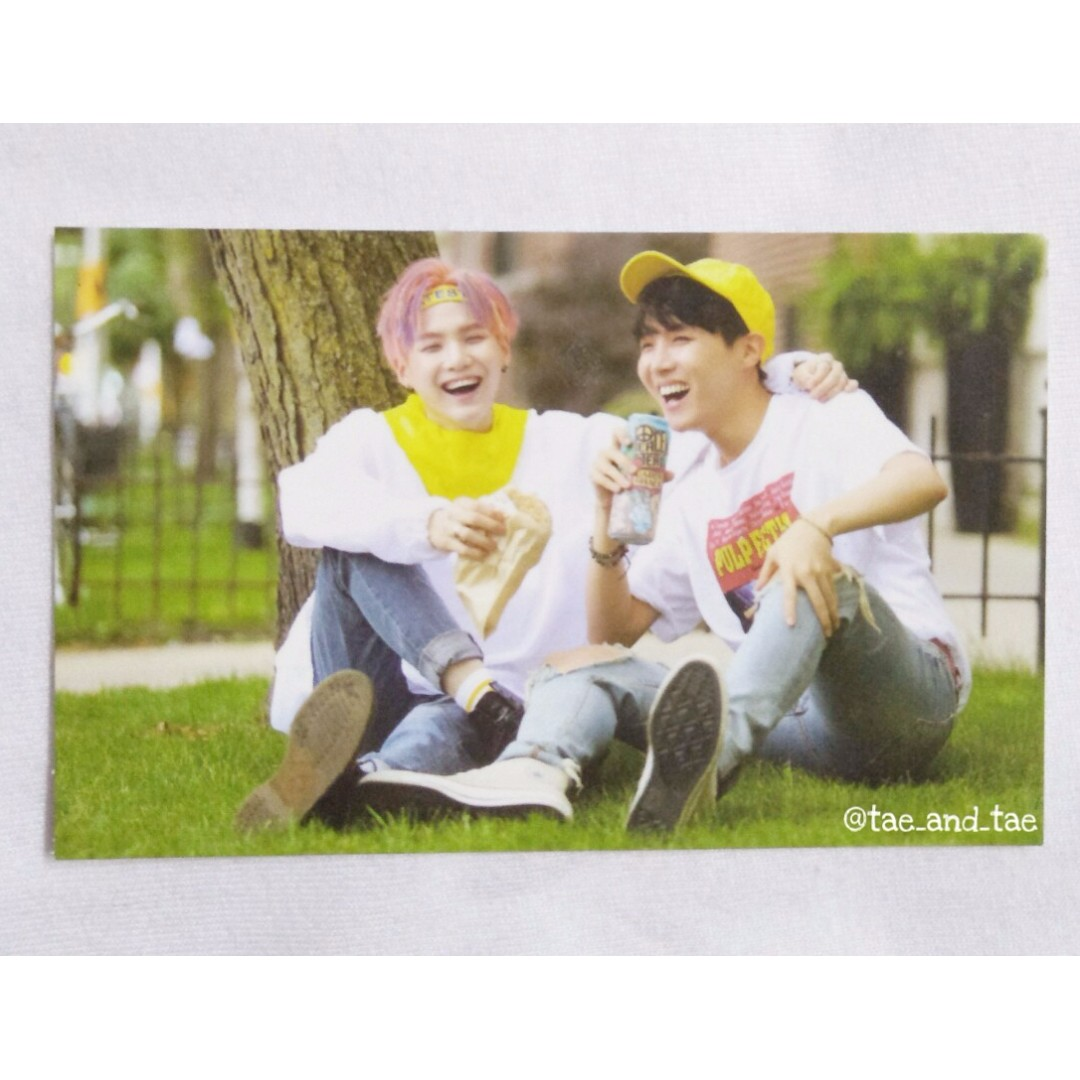 BTS Official Now 3 Photocard - J-Hope & Suga
