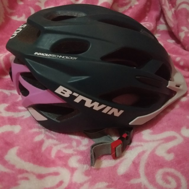 **REPRICED** B-twin MTB helmet