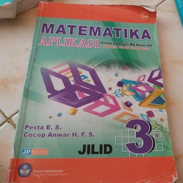 buku Matematika ipa 12