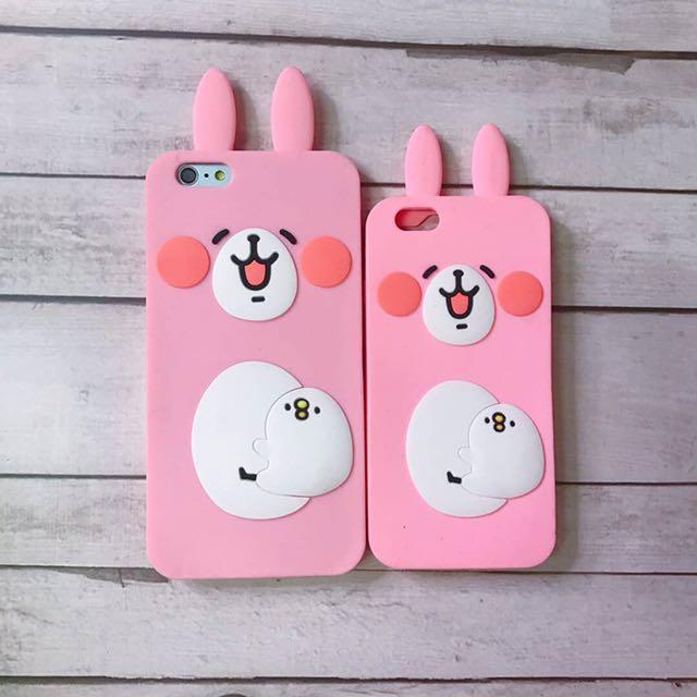 Bunny design silicon case