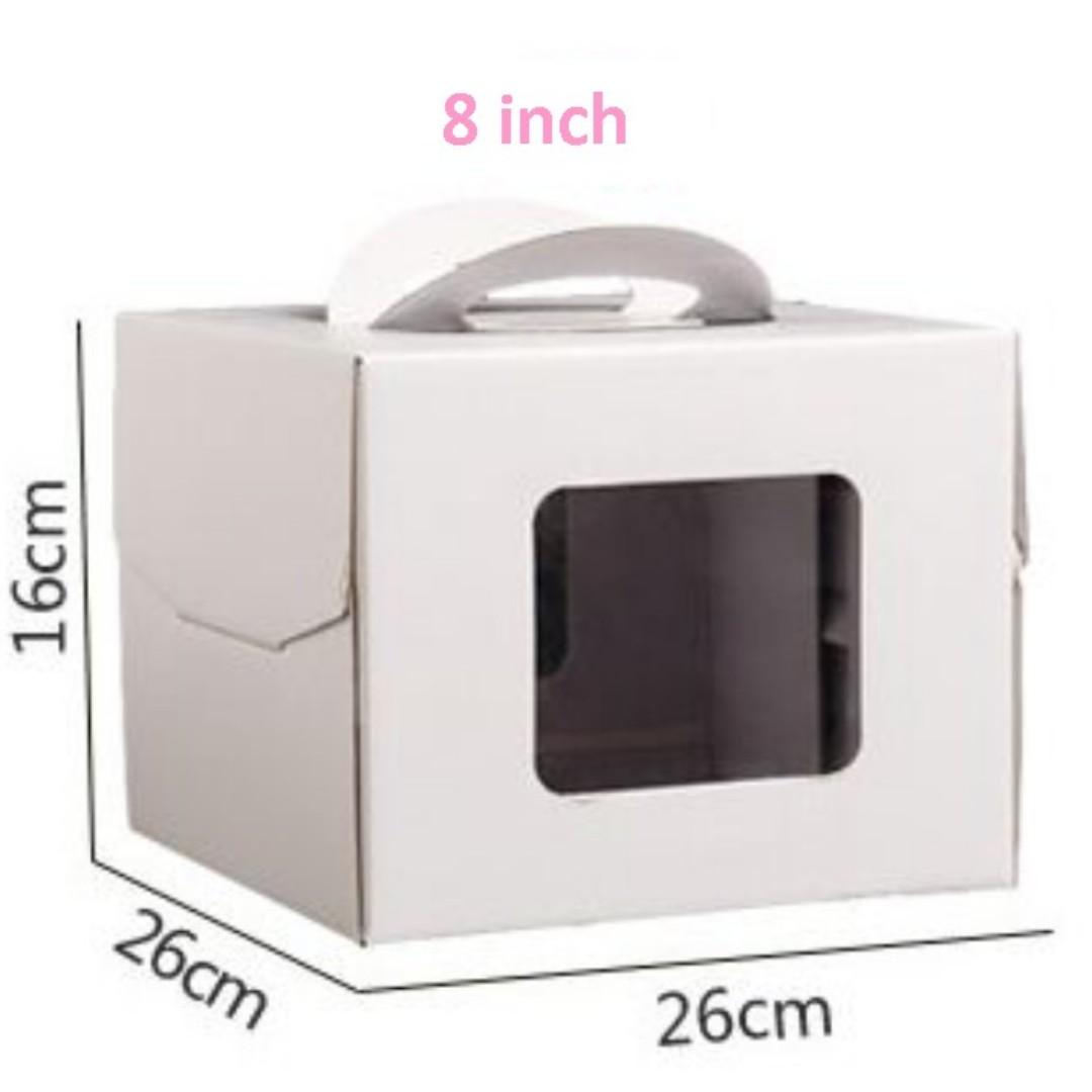 Cake Box with Window 10pcs **Sale!**New!**