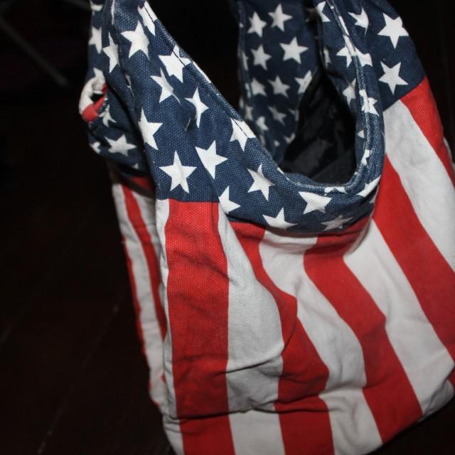 Canvas Bag (American Flag)