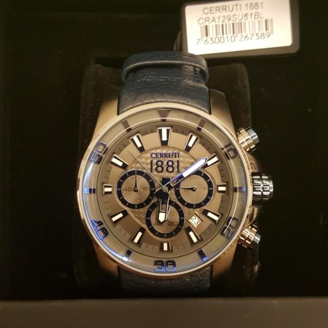 d8832de58b5 CERRUTI 1881 CHRONOGRAPH, Men's Fashion, Watches on Carousell