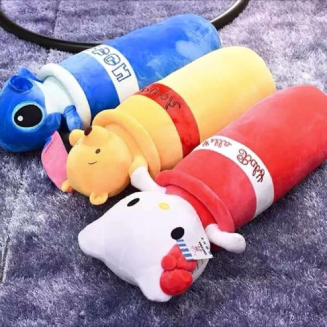 Character Hotdog Pillow