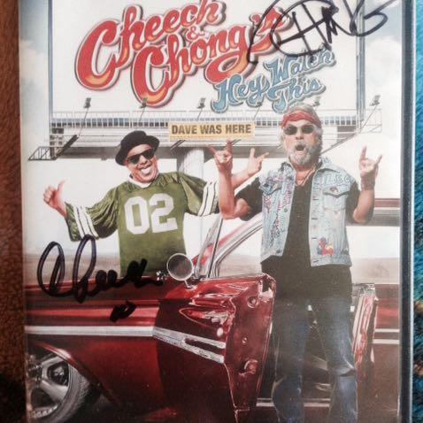 Cheech & Chong Autograph Dvd