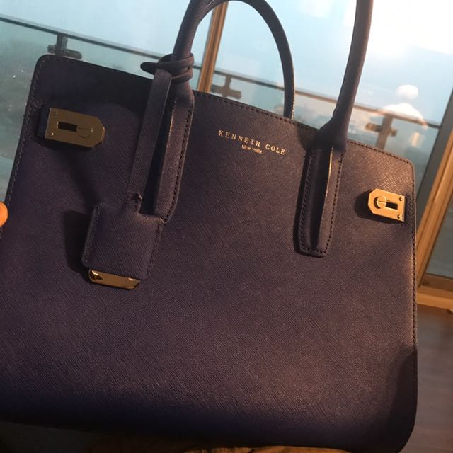 💙Colbat Blue Kenneth Cole Bag
