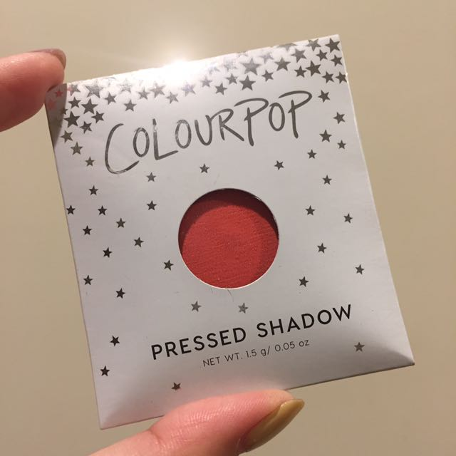 colourpop 粉狀眼影 色號 slim fit