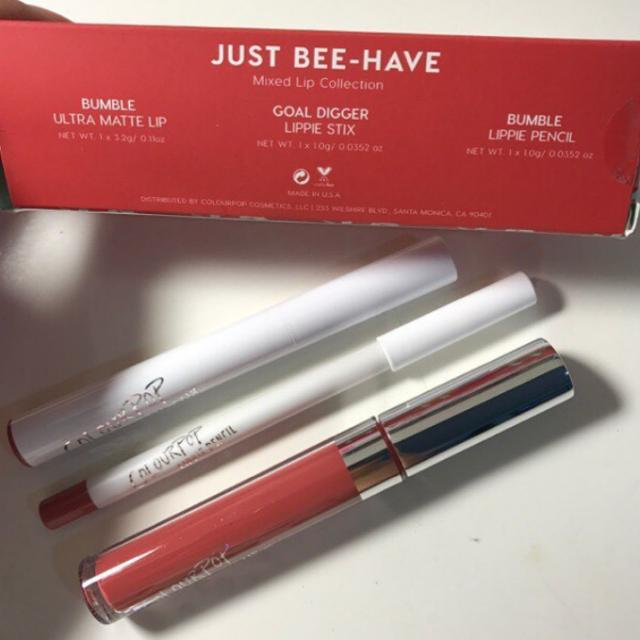 Colourpop Lip Trio in Just Bee-have
