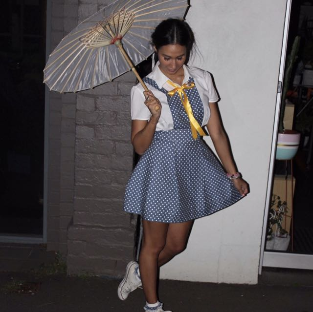 Darla costume from the little rascals