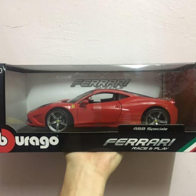 Diecast Bburago Ferrari 458 Speciale