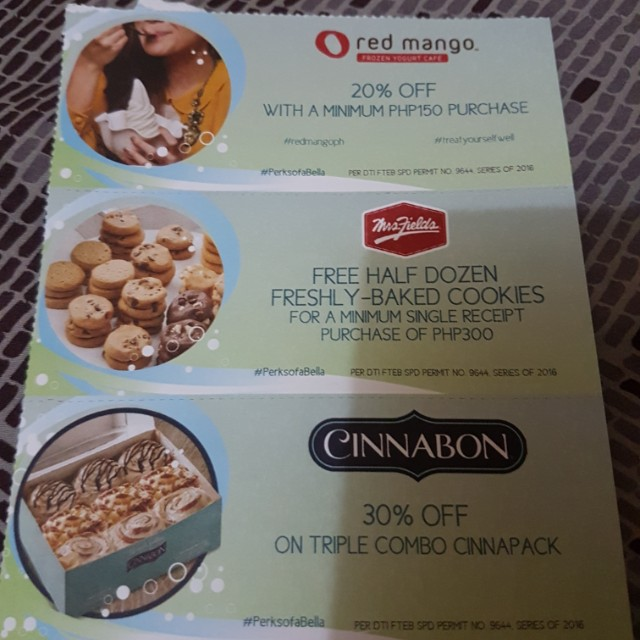 Discount Coupon on sale (repriced)