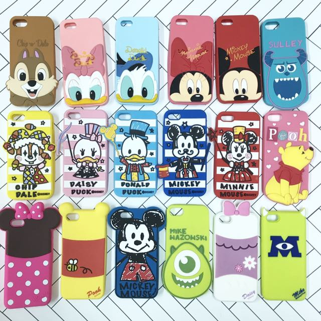 Disney design silicon case ONLY iPhone 5/5S/SE