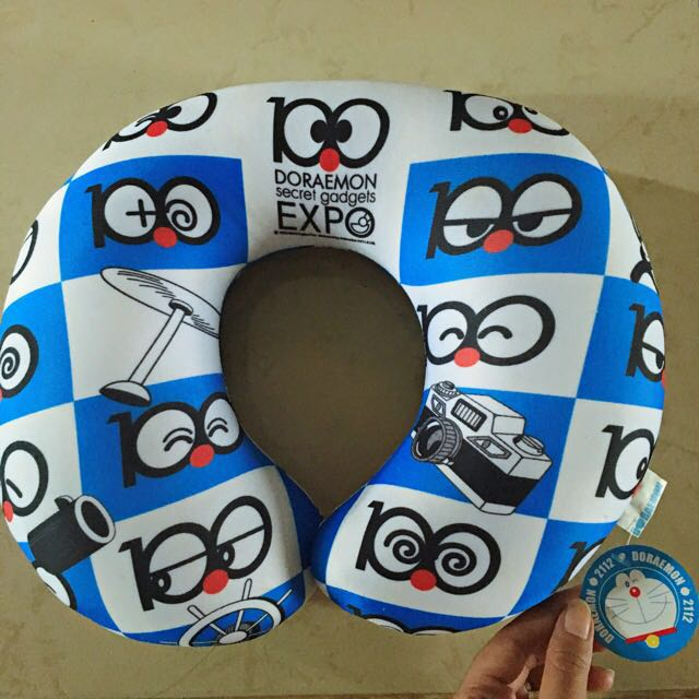 Doraemon Travel Neck Pillow