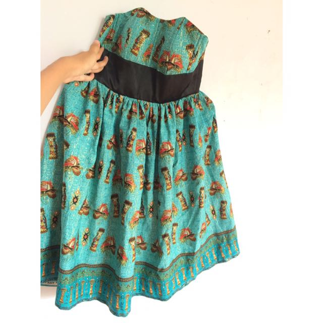 Dress batik asli papua