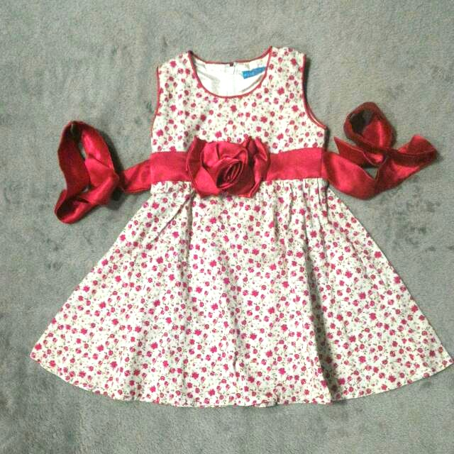 Dress Utk 2-3 Thn