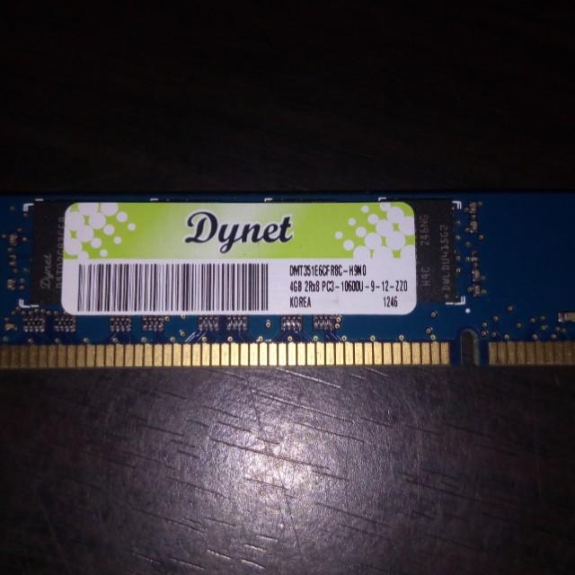 Dynet 4gb Ddr3 Pc1333 Memcard Electronics Computer Parts