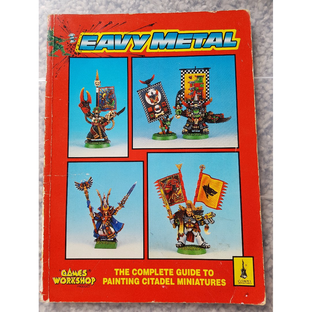 'Eavy Metal : The Complete Guide to Painting Citadel Minatures (Softback)  (1993), Books & Stationery, Fiction on Carousell