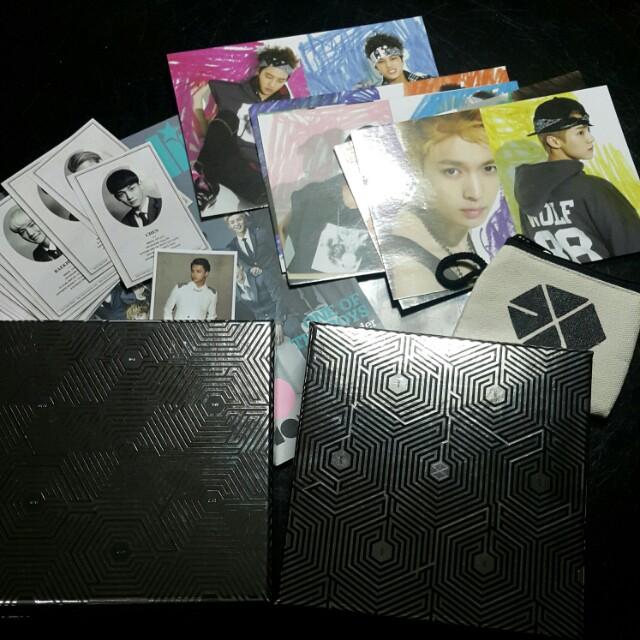 EXO Overdose Albums (K & M)