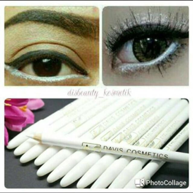 Eyeliner Pensil Davis Putih
