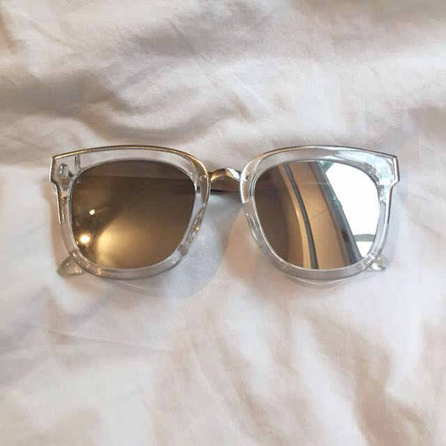 Forever 21 mirrored sunglasses