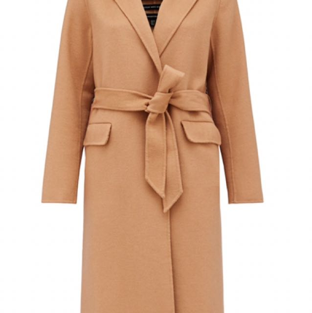 Forever New Camel Coat