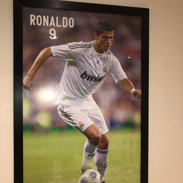 Framed Cristiano Ronaldo Photo