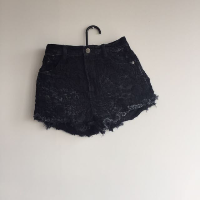 Free People high waisted shorts