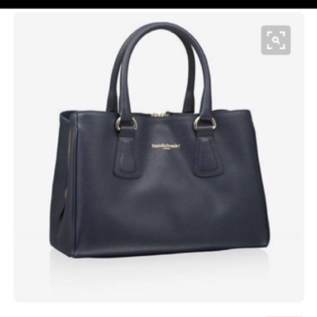 🌟Further Markdown 🔥🔥🔥Russell And Bromley Black Ivy Handbag