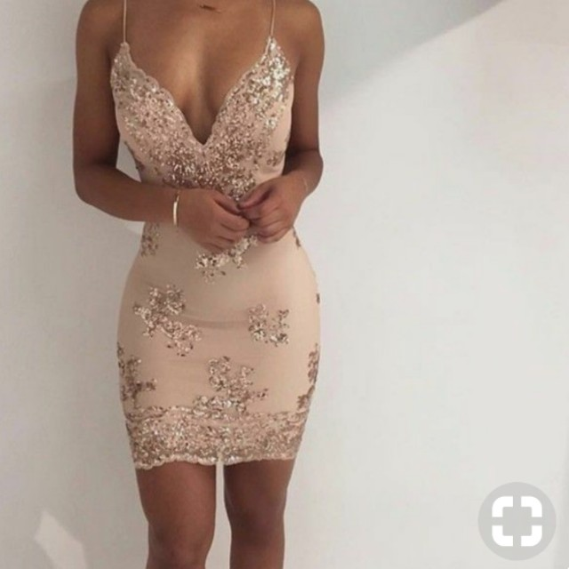 Gold Deb/Formal dress