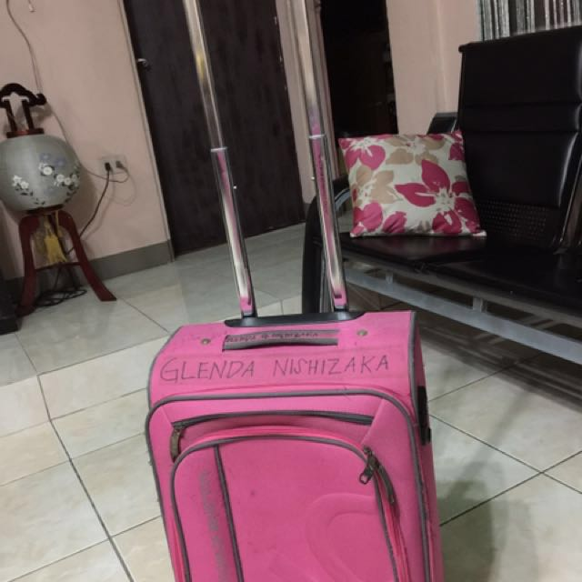 hand carry luggage branded