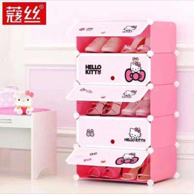 Hello Kitty Shoe Rack