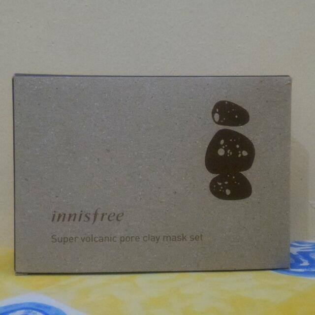 Innisfree Super Volcanic Pore Clay Mask Set
