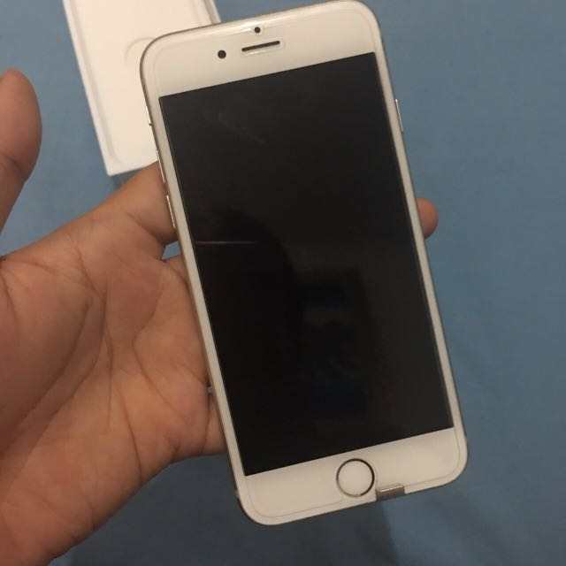 Iphone 6 128gb silver Internasional ORI RESMI