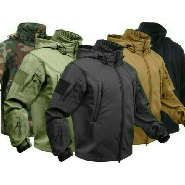 Jaket TAD / Jaket Gunung Army Pria