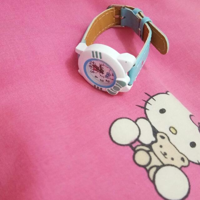 Hello Kitty WAT1516F Cute Cartoon Watch Jam Tangan Anak Perempuan - Pink. e52209efdc