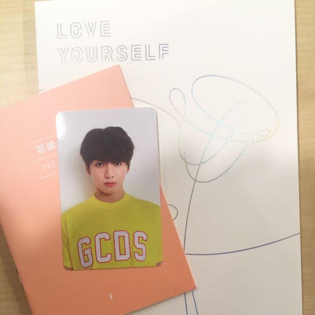 jungkook photocard bts love yourself her 1507745411 cf3dc34d