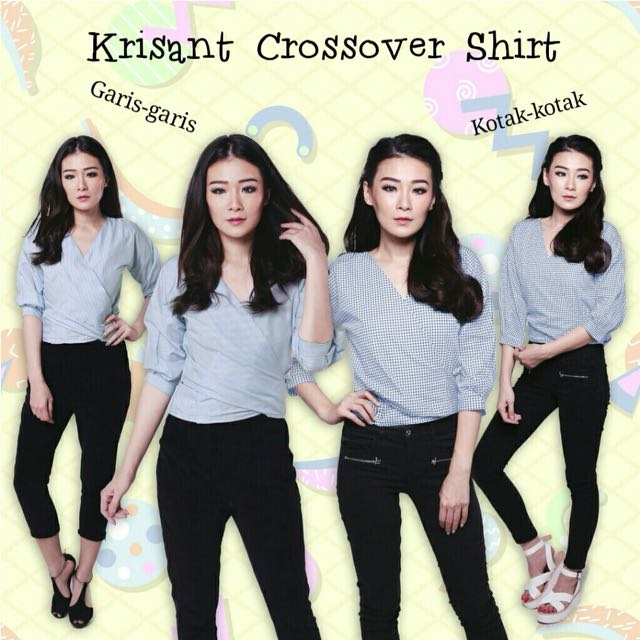 KRISANT CROSSOVER SHIRT