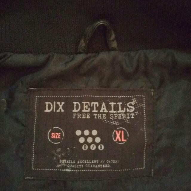 Leather Jacket D X Details