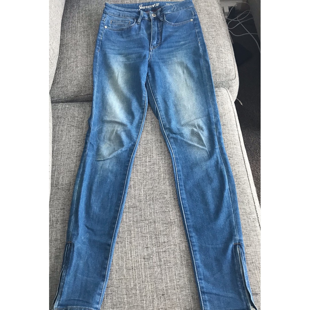 High Rise Light Blue Size 6 Jeans