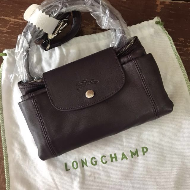 Longchamp Leather Bag Authentic [REPRICED]