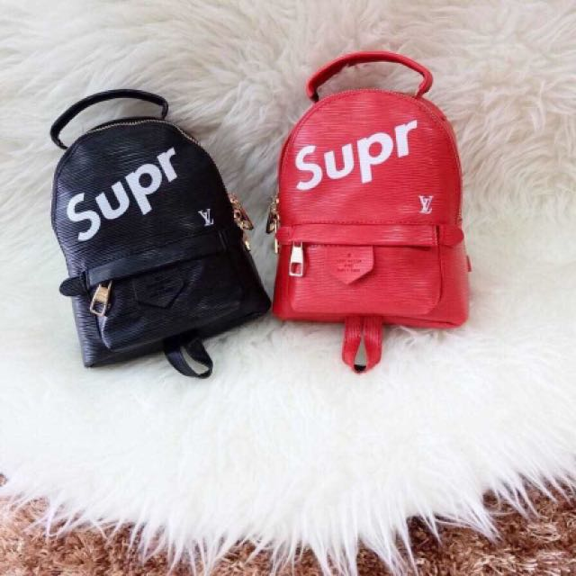 LOUIS VUITTON SUPREME MINI PALM SPRING BACKPACK